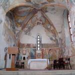 Interiér kostola sv. Egídia