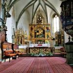 Interiér Kostola sv. Juraja