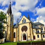 Levoča Basilica of Visitation of Virgin Mary at the Cult of Mary's mountain - Source: http://www.panoramio.sk/