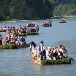 Splav Dunajca na pltiach - Foto: http:/http://www.pltnictvo.eu/