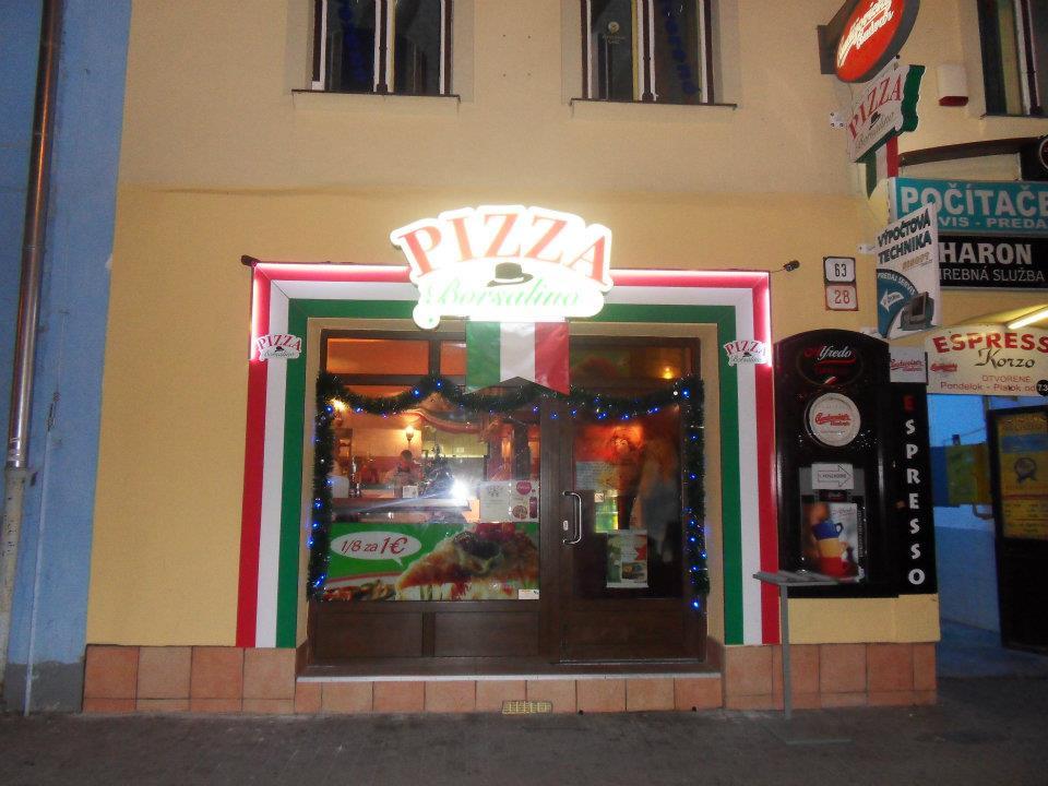 Pizzeria Borsalino Námestie sv. Egídia Poprad