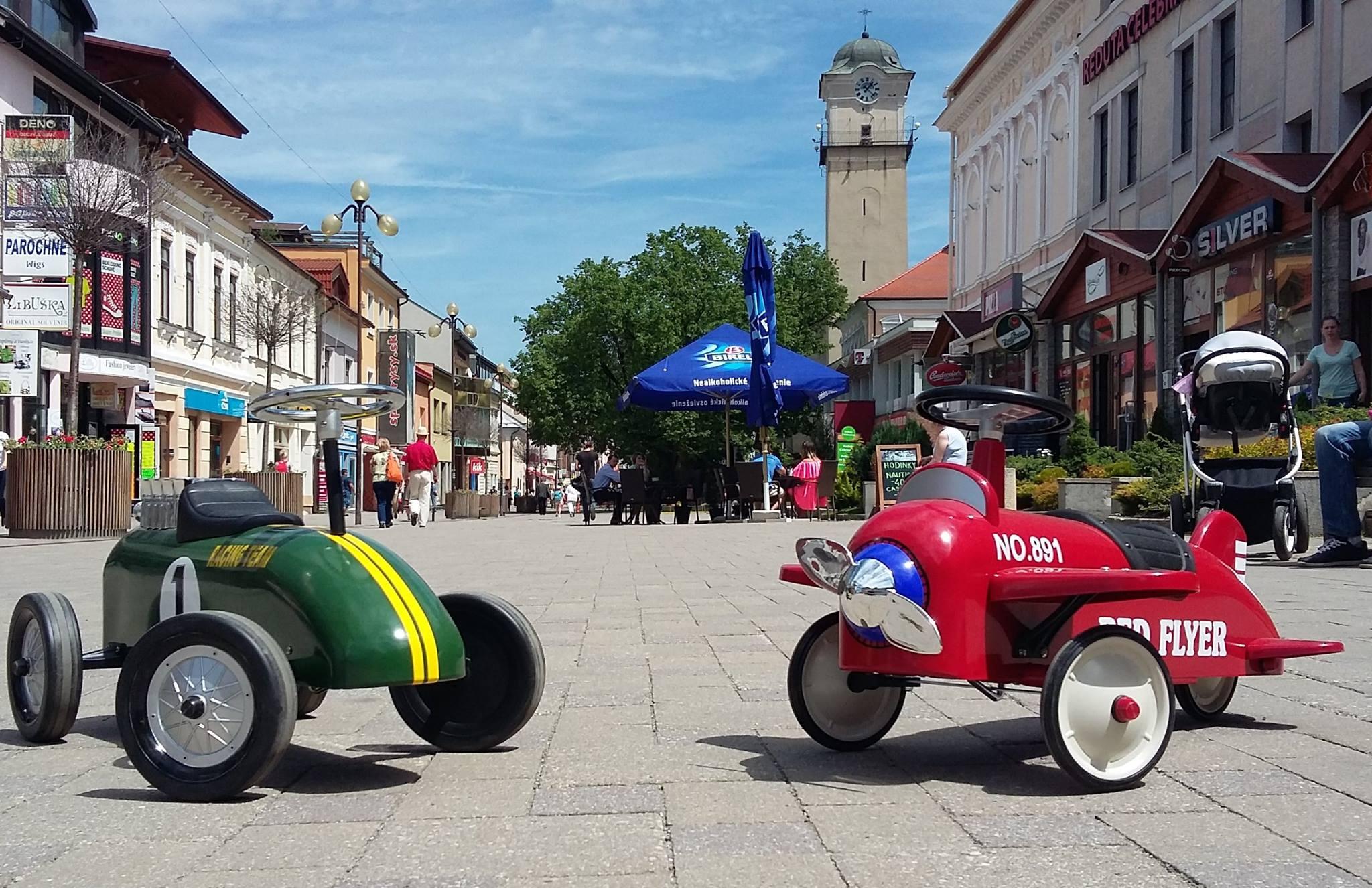 Retro autíčka VisitPoprad.sk