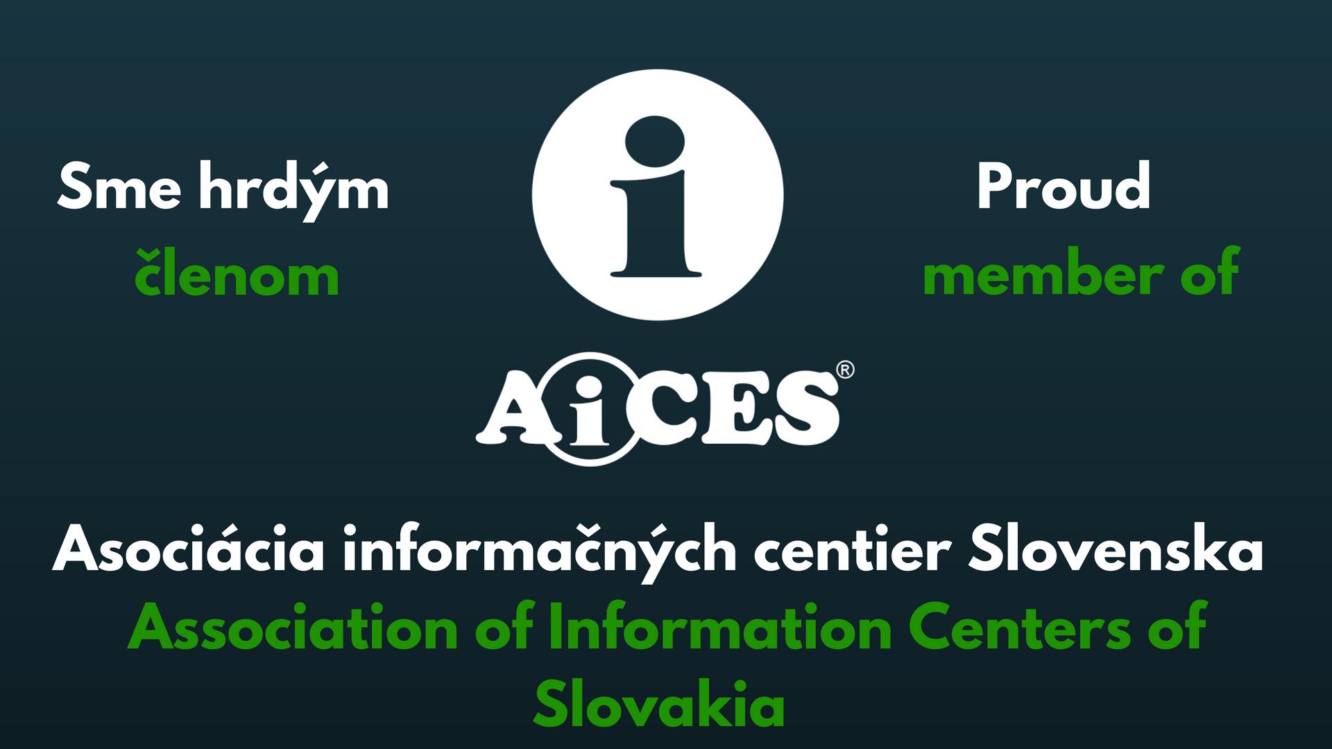 Aices member, člen Poprad Asociácia informačných centier Slovenska