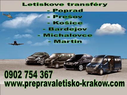 taxi sluzba preprava osob na letiska