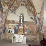 Kostol sv. Egídia zvnútra